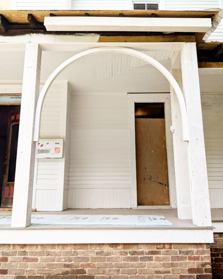 Restoring The Front Porch: Columns and Arches
